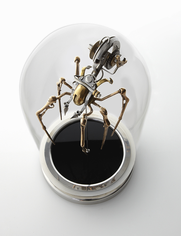 ROBOTIC INSECT SPIDER TITLED DECOROID BY ARTIST CHRISTOPHER CONTE